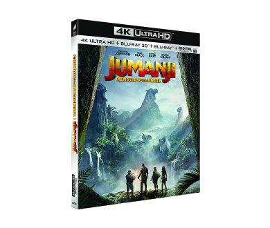 Test 4K Ultra HD Blu-ray : Jumanji : Bienvenue dans la jungle