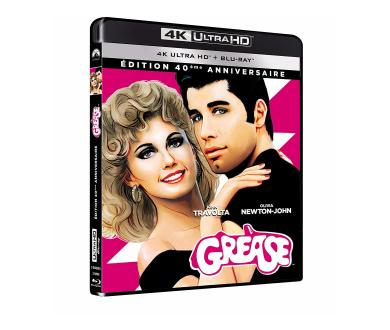 Test 4K Ultra HD Blu-ray : Grease (40ème anniversaire)