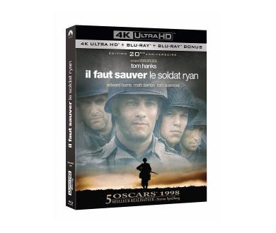Test 4K Ultra HD Blu-ray : Il Faut Sauver le Soldat Ryan (Master 4K)