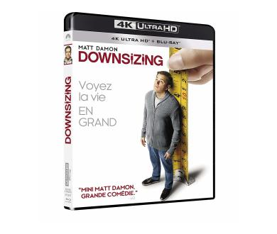 Test 4K Ultra HD Blu-ray : Downsizing