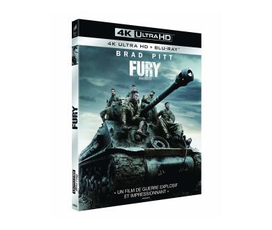 Test 4K Ultra HD Blu-ray : Fury (Master 4K)