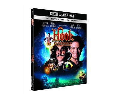 Test 4K Ultra HD Blu-ray : Hook, ou la Revanche du Capitaine Crochet (Master 4K)