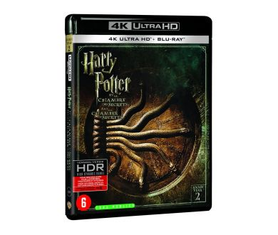 Test 4K Ultra HD Blu-ray : Harry Potter et la Chambre des Secrets