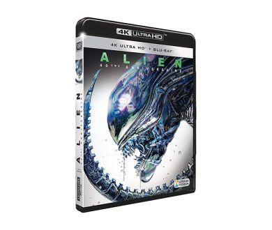 Test 4K Ultra HD Blu-ray : Alien (40ème anniversaire)