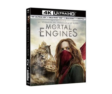Test 4K Ultra HD Blu-ray : Mortal Engines