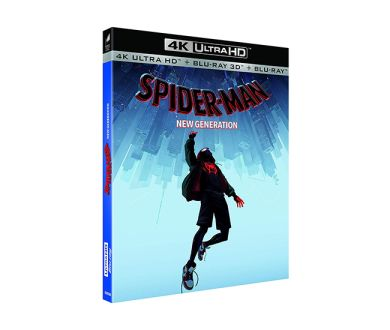 Test 4K Ultra HD Blu-ray : Spider-Man New Generation