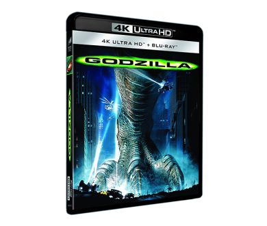 Test 4K Ultra HD Blu-ray : Godzilla (1998)