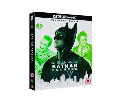 Test 4K Ultra HD Blu-ray : Batman Forever