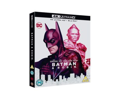 Test 4K Ultra HD Blu-ray : Batman & Robin