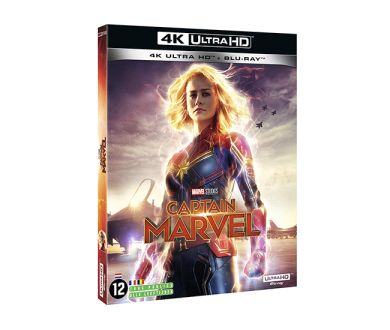 Test 4K Ultra HD Blu-ray : Captain Marvel