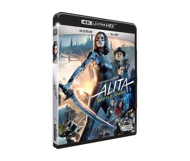 Test 4K Ultra HD Blu-ray : Alita Battle Angel