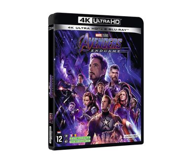 Test 4K Ultra HD Blu-ray : Avengers Endgame