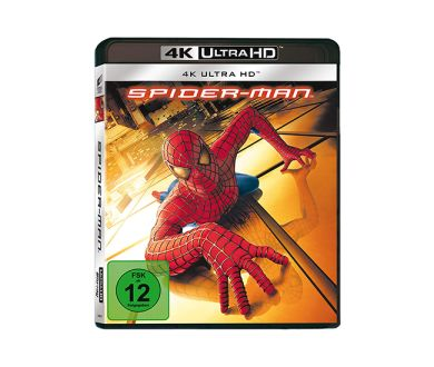 Test 4K Ultra HD Blu-ray : Spider-Man (2002)