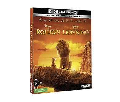 Test 4K Ultra HD Blu-ray : Le Roi Lion (2019)