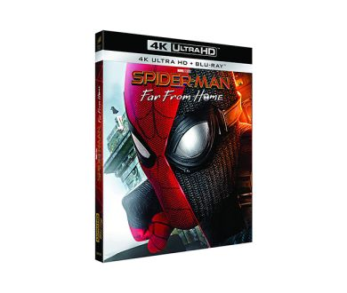 Test 4K Ultra HD Blu-ray : Spider-Man : Far from Home