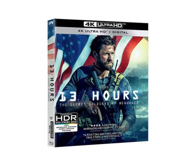 Test 4K Ultra HD Blu-ray : 13 Hours