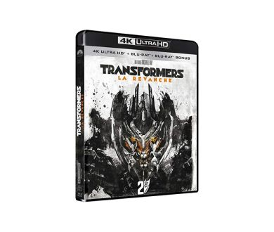 Test 4K Ultra HD Blu-ray : Transformers 2 - La Revanche