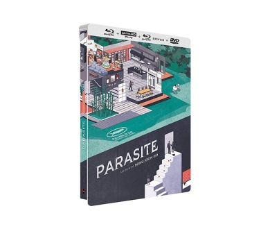 Test 4K Ultra HD Blu-ray : Parasite