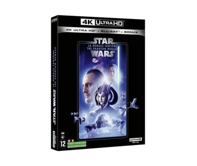 Test 4K Ultra HD Blu-ray : Star Wars : Episode I - La Menace Fantôme