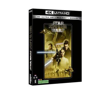 Test 4K Ultra HD Blu-ray : Star Wars : Episode II - L'Attaque des Clones