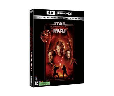 Test 4K Ultra HD Blu-ray : Star Wars : Episode III - La Revanche des Sith