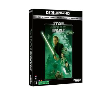 Test 4K Ultra HD Blu-ray : Star Wars : Episode VI - Le Retour du Jedi
