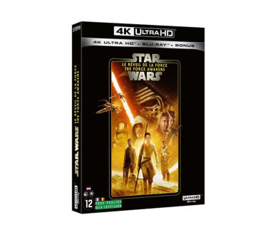 Test 4K Ultra HD Blu-ray : Star Wars : Episode VII - Le Réveil de la Force