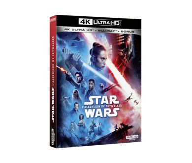 Test 4K Ultra HD Blu-ray : Star Wars : Episode IX - L'Ascension de Skywalker