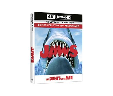 Test 4K Ultra HD Blu-ray : Les Dents de la Mer