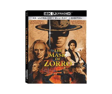 Test 4K Ultra HD Blu-ray : Le Masque de Zorro