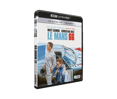 Test 4K Ultra HD Blu-ray : Le Mans 66
