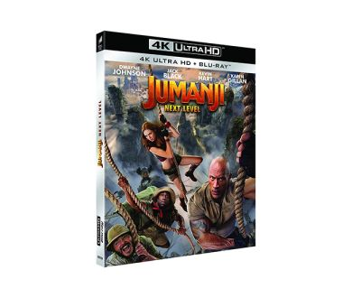Test 4K Ultra HD Blu-ray : Jumanji Next Level