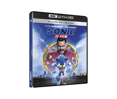 Test 4K Ultra HD Blu-ray : Sonic, le Film