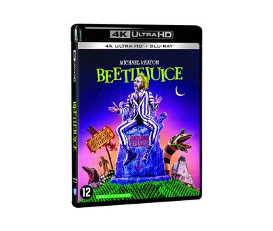 Test 4K Ultra HD Blu-ray : Beetlejuice