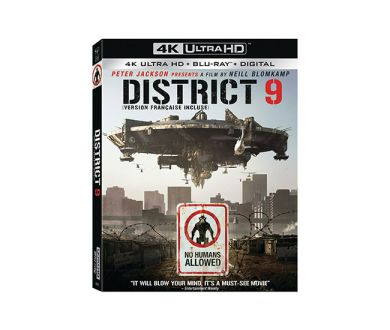 Test 4K Ultra HD Blu-ray : District 9