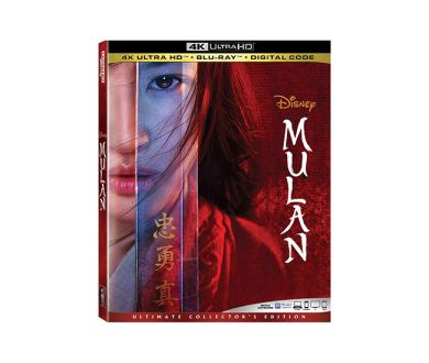 Test 4K Ultra HD Blu-ray : Mulan (2020)