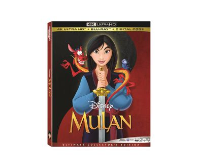 Test 4K Ultra HD Blu-ray : Mulan (1998)