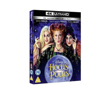 Test 4K Ultra HD Blu-ray : Hocus Pocus