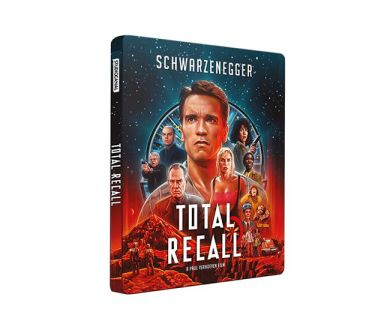 Test 4K Ultra HD Blu-ray : Total Recall (1990)