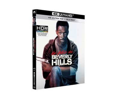 Test 4K Ultra HD Blu-ray : Le Flic de Beverly Hills