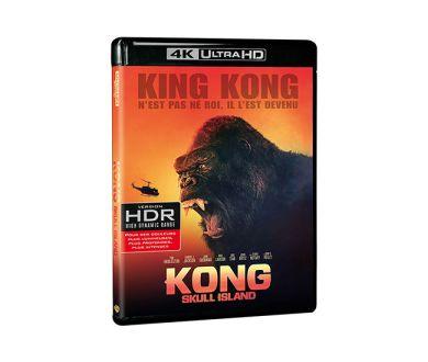 Test 4K Ultra HD Blu-ray : Kong Skull Island