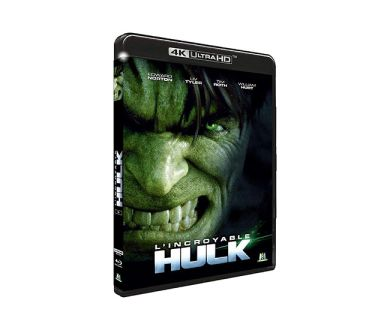 Test 4K Ultra HD Blu-ray : L'Incroyable Hulk