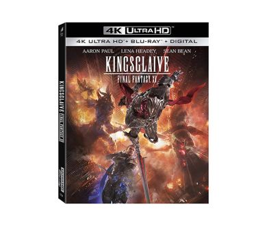 Test 4K Ultra HD Blu-ray : Kingsglaive - Final Fantasy XV