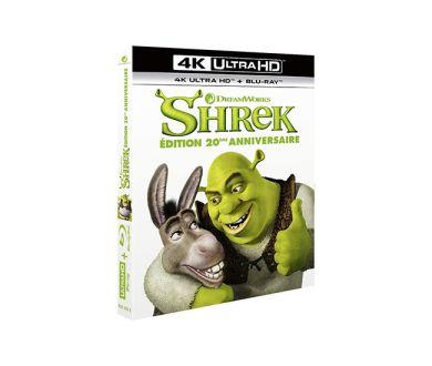Test 4K Ultra HD Blu-ray : Shrek (20ème Anniversaire)