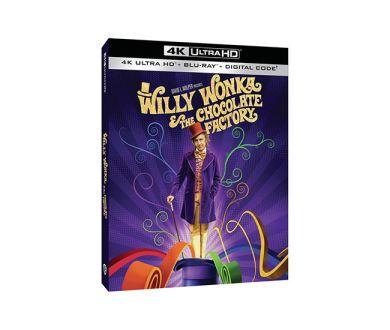 Test 4K Ultra HD Blu-ray : Charlie et la Chocolaterie (1971)