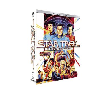 Test 4K Ultra HD Blu-ray : Star Trek 3 : À la recherche de Spock