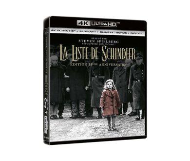 Test 4K Ultra HD Blu-ray : La Liste de Schindler