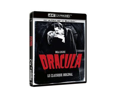 Test 4K Ultra HD Blu-ray : Dracula (1931)