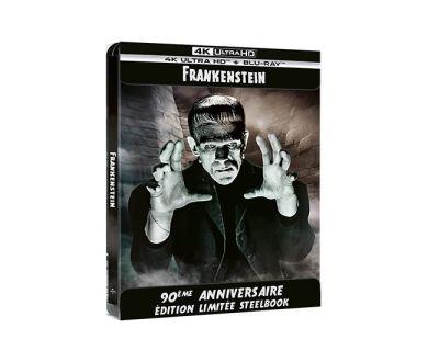 Test 4K Ultra HD Blu-ray : Frankenstein (1931)