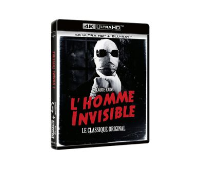 Test 4K Ultra HD Blu-ray : L'Homme Invisible (1933)